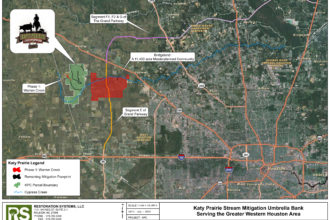 Texas flood and the Katy Prairie Stream Mitigation Bank