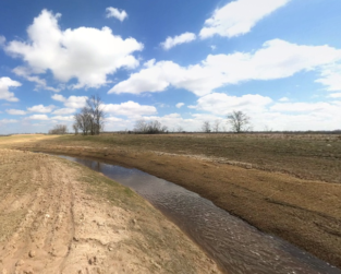 Restoration of Warren Creek on the Katy Prairie, Texas