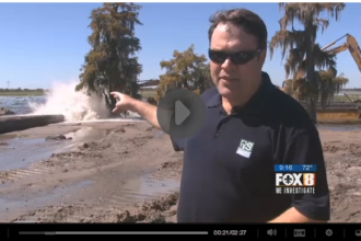 Jesuit Bend project on Fox 8 New Orleans