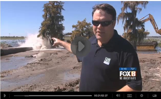 Jesuit Bend project on Fox 8 New Orleans