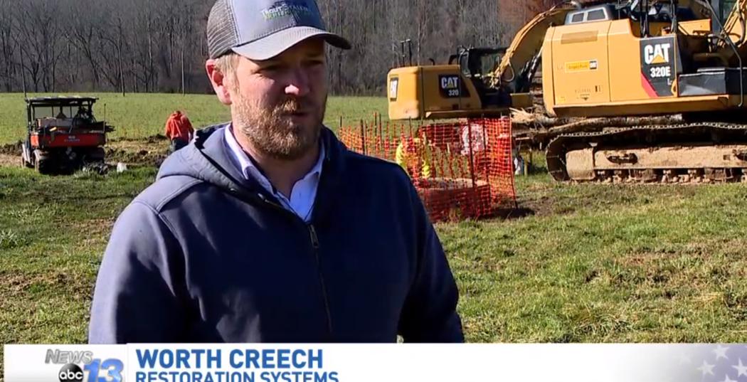 Worth on video: Warren Wilson College project seeks to reroute streams