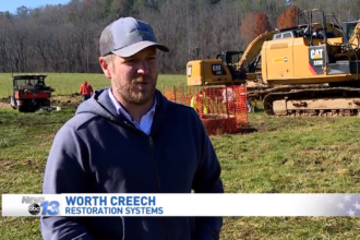 Worth on video: Warren Wilson College project seeks to reroute streams