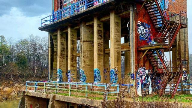 WRAL: Carbonton dam: Exploring 100-year-old remains of CP&L's early power station