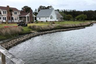 Living Shoreline Work to Begin in Topsail